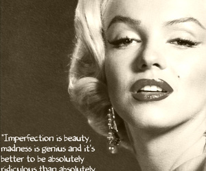 Marilyn Monroe, quote, and beautiful image