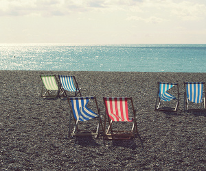 beach, beuatiful, and color image