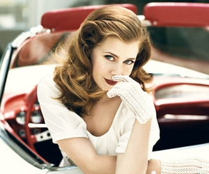 Amy Adams and vintage image