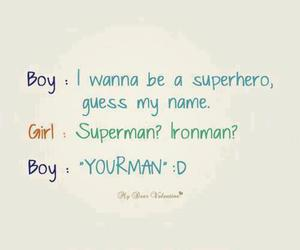 love, boy, and superman image