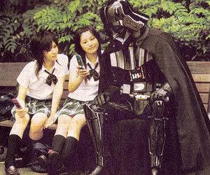 darth vader, japan, and star wars image