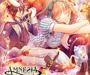 amnesia, alice in wonderland, and anime image
