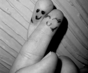fingers, cute, and love image