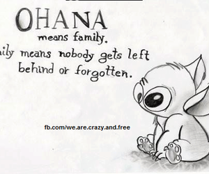 family, love, and disney image