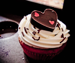 cupcake, food, and kawaii image