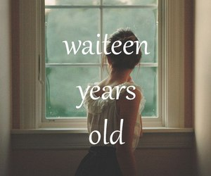 girl and waiting image