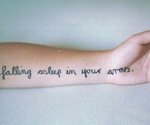 arm, typography, and photography image