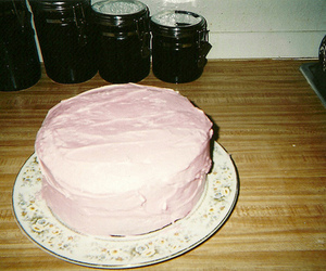 cake, pink, and photography image