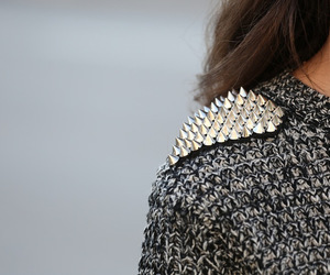 fashion, spikes, and studs image