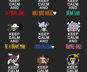 one piece and keep calm image