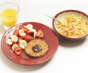 banana, bread, and breakfast image