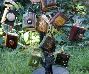 tree, books, and magic image