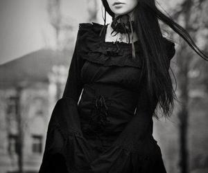 gothic, goth, and black image