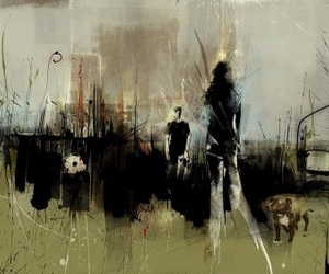 illustration and Russ Mills image