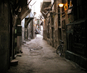 alley, bicycle, and bike image