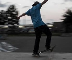 boy, skate, and skate park image