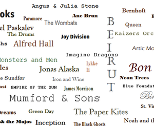 birdy, mumford and sons, and muse image
