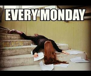 fuck, school, and monday image