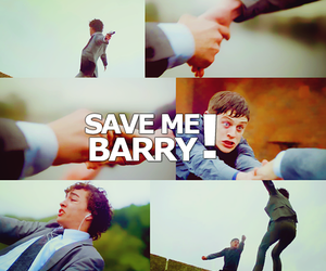 barry, serie, and robert sheehan image
