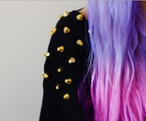 fashion, hair, and studs image
