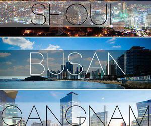 seoul, busan, and gangnam image