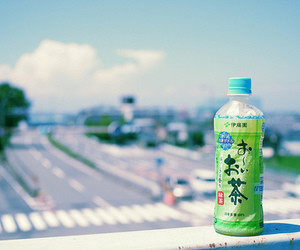 japan, drink, and sky image