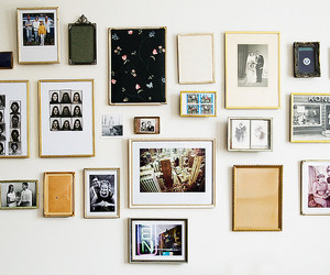 wall, vintage, and picture image