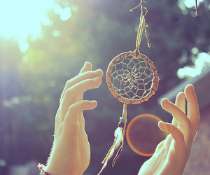 Dream, photography, and dreamcatcher image