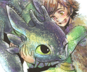 toothless, cute, and hiccup image