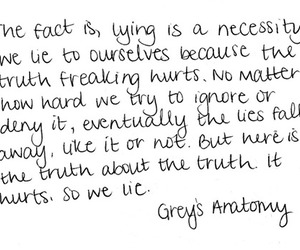 grey, lie, and truth image