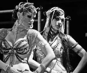 bellydance, dance, and gypsy image
