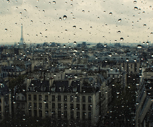 city, eiffel tower, and pompidou image