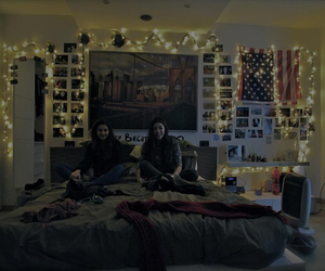 american, paradise, and bed image