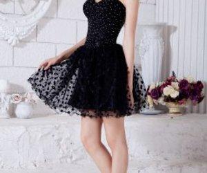 black dress, pretty, and sexy image