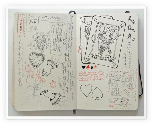 cards and moleskine image