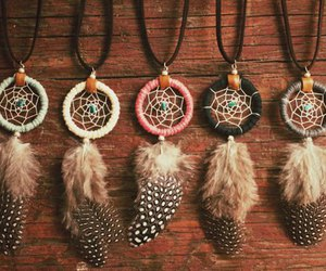 beauty, Dream, and dreamcatcher image