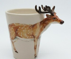 cup and deer image