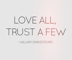 love, quote, and trust image