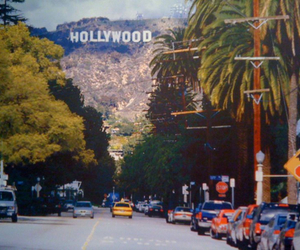 hollywood, city, and car image