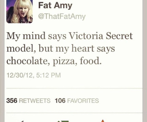 food, fat amy, and chocolate image