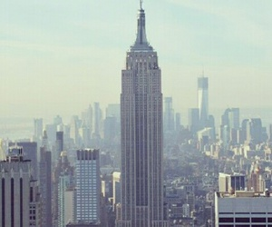 empire state building, new york, and beautiful image