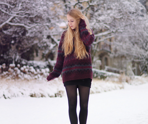 black and white, black boots, and clothes image
