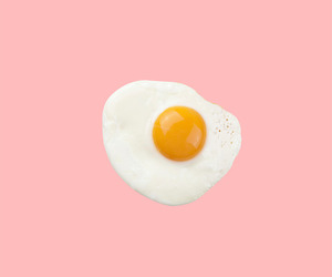W, egg, and pink image