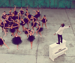 ballet, kanye west, and piano image