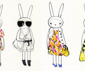bunny and fifi lapin image