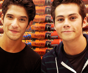 girls, teen wolf, and dylan o'brien image