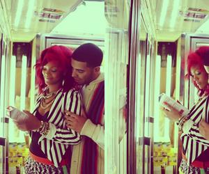 Drake, love, and rihanna image
