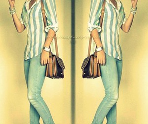 bags, fashion, and high heels image
