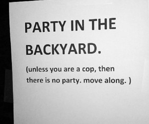 funny, party, and quote image
