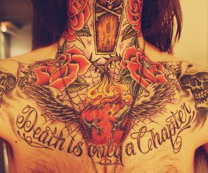 chest piece and tattoo image